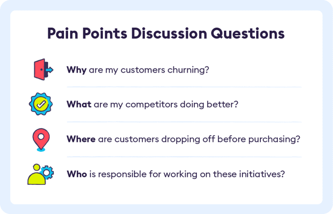 Pain Point Discussion Questions